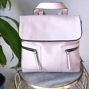 NWOT Missimo Blush Pink Backpack